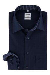 donkerblauw-overhemd-olymp-luxor-comfort-fit